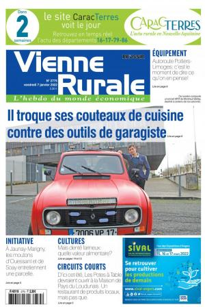 La couverture du journal La Vienne Rurale n°2709 | septembre 2020